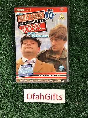 Only Fools and Horses DVD Collection Disc 10 -TO HULL AND BACK xmas special