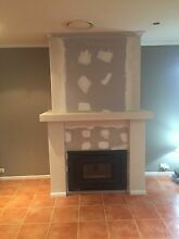 Wood and gas fire installation frame outs all areas Hassall Grove Blacktown Area Preview