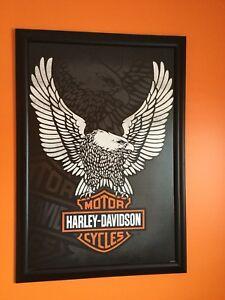 Harley Davidson Framed Picture
