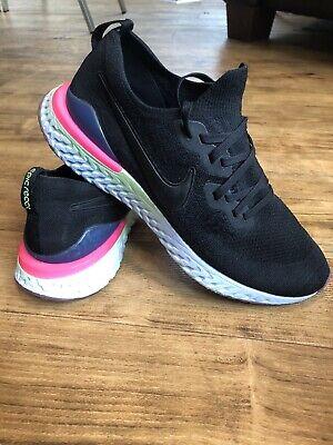 Nike Epic React Flyknit 2 Running Shoe Trainers Uk Size 11
