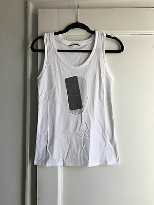 Maiyet White Ice Cream Sandwich Tank Top, Size Small, New