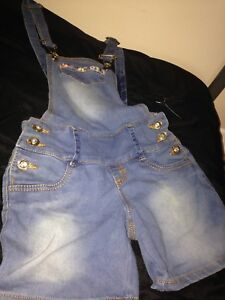 Overall shorts (size medium in kids)