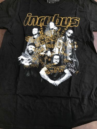 Incubus 20 years of Make yourself and beyond Tour T-shirt new size M