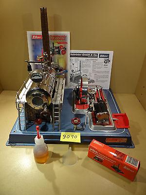 Dampfmaschine Wilesco D20 mit Zubehör / 80er Jahre