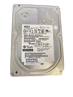 SUN HGST Hitachi Ultrastar 7K3000 HUS723030ALS640 3TB 0B26324 64MB SAS 6.0Gb/s