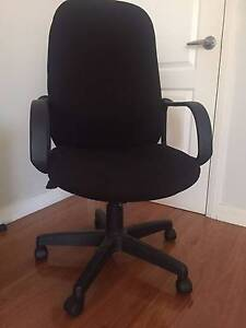 Great for home office - near new condition - black office chair Hornsby Hornsby Area Preview
