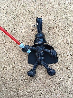 Star Wars Darth Vader Paracord Keyring /Puller / Lanyard Made In UK