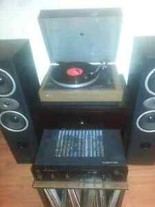 Vintage record player/amplifier/speakers combo Osborne Park Stirling Area Preview