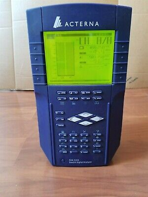 Acterna Wavetek Jdsu Sda-5000 Stealth Cable Analyzerrev. Sweepspectrumpath