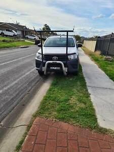 2017 Toyota Hilux Workmate 5 Sp Manual C/chas