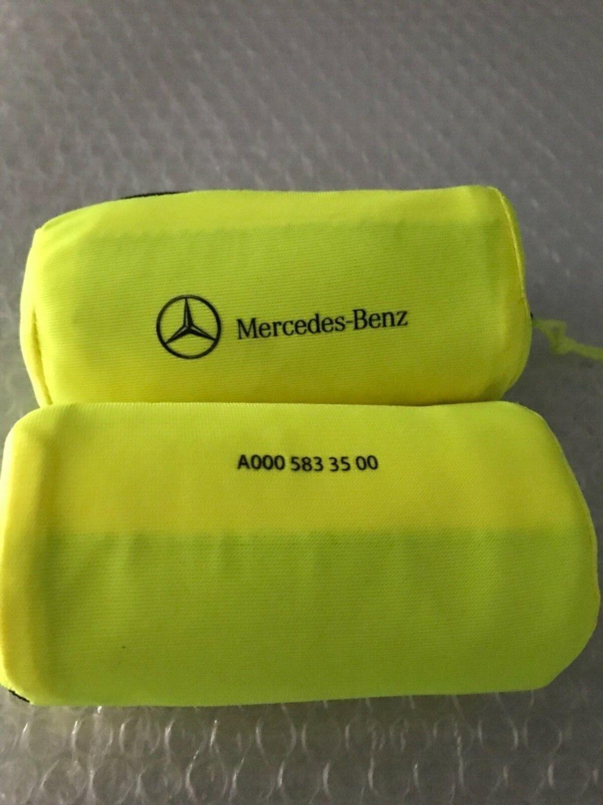 2 Originale Mercedes Benz Warnwesten A0005833500