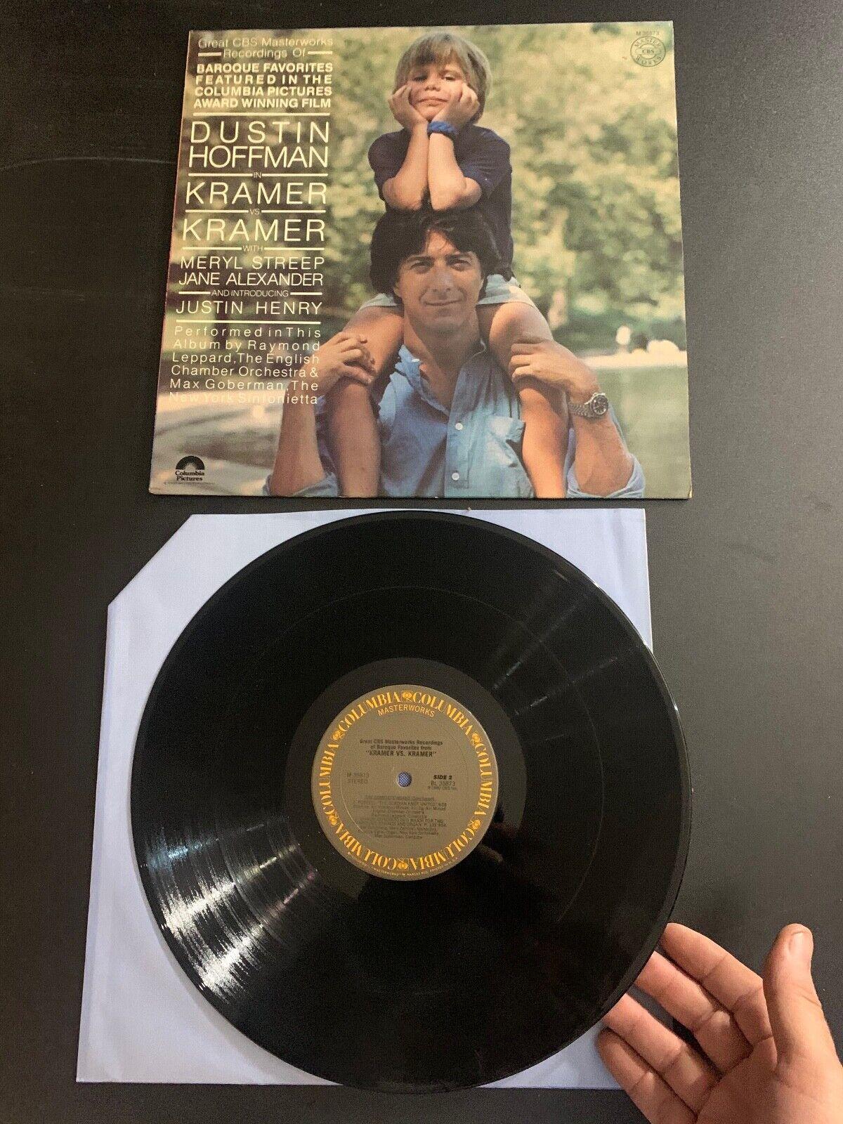 LP RECORD - KRAMER VS KRAMER SOUNDTRACK - CBS RECORDS - $9.99