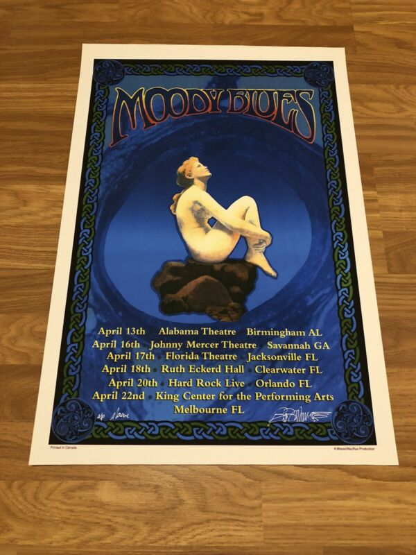 Moody Blues Artist Proof, Dual Artist Signed Print