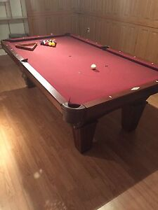 Pool table 8x4