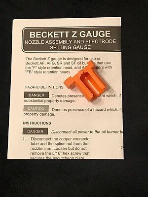 Backett Z Gauge Kit Z2000 Free Shipping