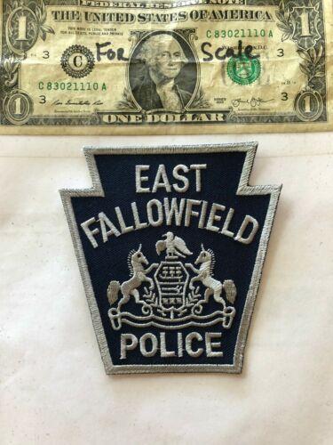 East Fallowfield Pennsylvania Police Patch un-sewn mint shape