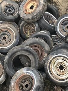 Used tires - to a good home - free