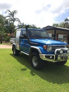 1997 Toyota Landcruiser 75 Series Driver Palmerston Area Preview