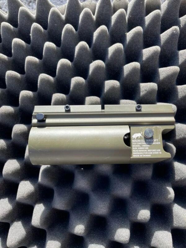 Airsoft MADBULL 203 Grenade Launcher 40mm green