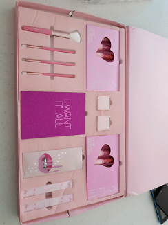 KYLIE I WANT IT ALL BOX SET $80  makeup box set collection