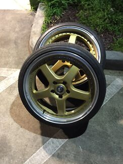 "Mc racing gold 20"" rims Roxburgh Park Hume Area Preview"
