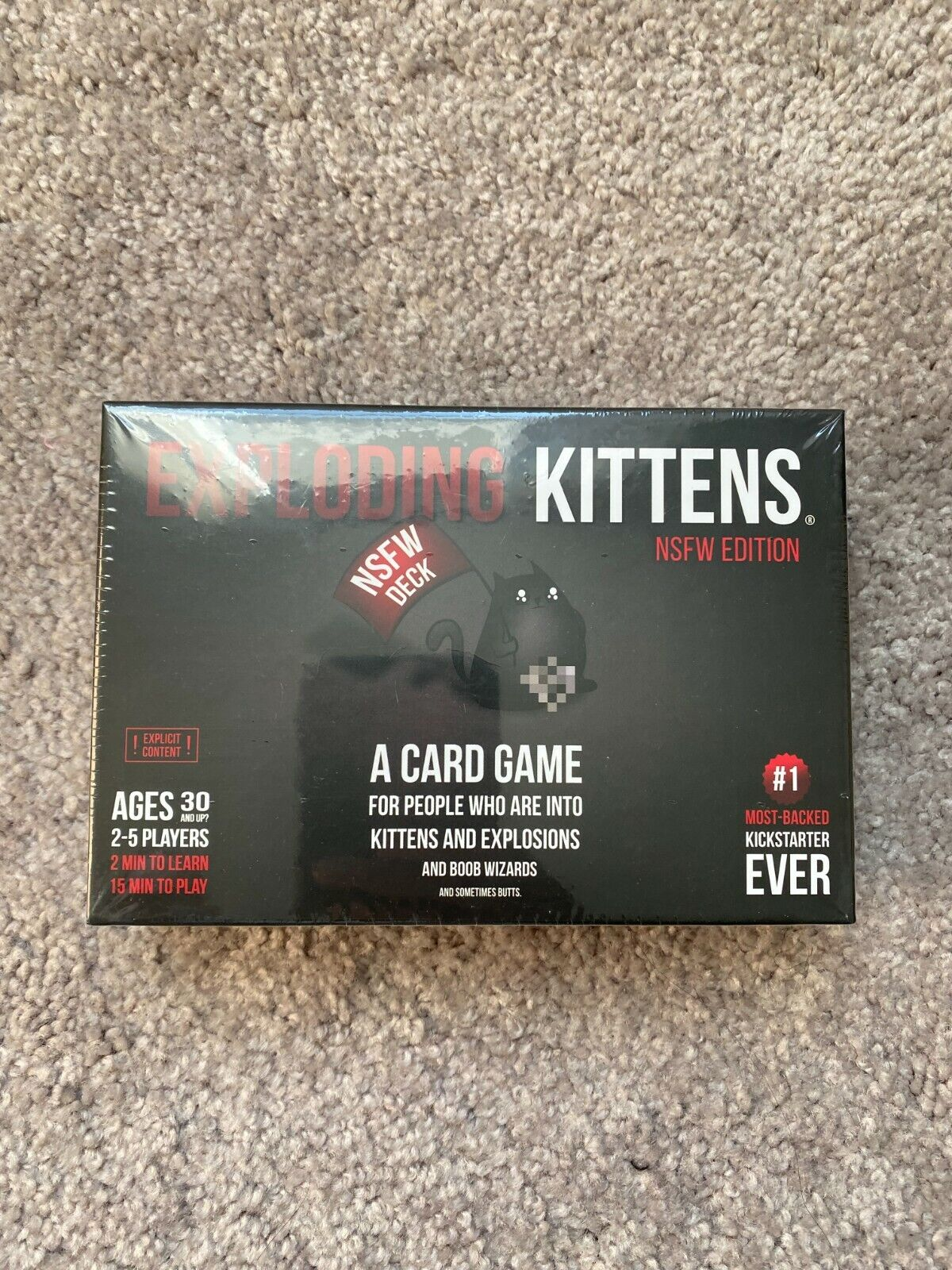 Exploding Kittens NSFW Adults Only Game - $14.99
