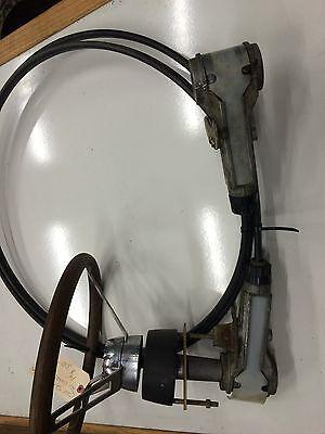 OMC Sterndrive Steering System. Tru Coarse, 14' Complete System. Stern Drive Steering Systems