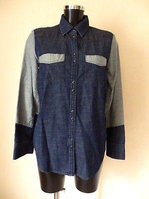Maje - chemise en jean - taille 38fr - authentique
