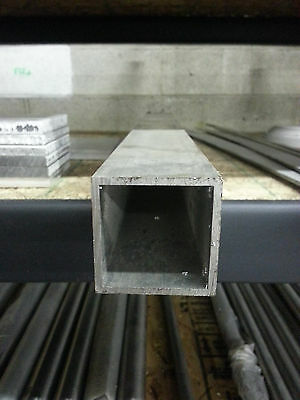 1 12 Aluminum Square Tube 6063 T5 .125 Wall X 18