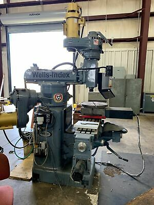 2018 Wells-index 860 48 X 10 Table 4200 Rpm 4-axis Cnc Mill With M-400 Centroid