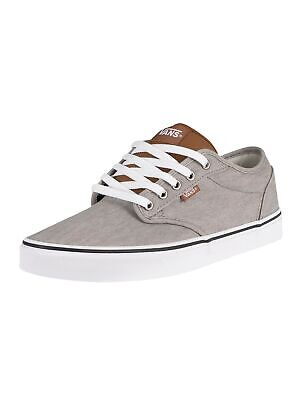 Vans Men's Atwood Enzyme Wash Trainers, Grey