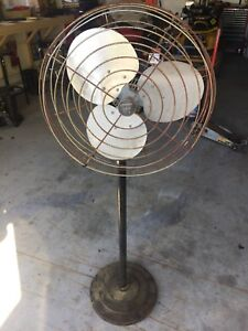 "Pedestal Fan 22"" industrial type"