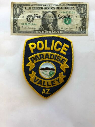 Paradise Valley Arizona Police Patch un-sewn great condition