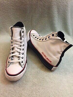 Converse Custom Chuck Taylor All Star Hi Shoes Mens SZ 10.5 Womens 12.5 - Custom Converse Shoes
