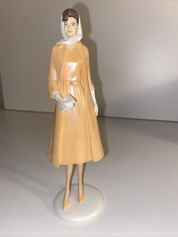 "Jackie Kennedy Hamilton Collection Collectible Figurine ""Glamorous Poise"""
