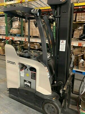 2014 Crown Electric Stand-up Forklift W Charger