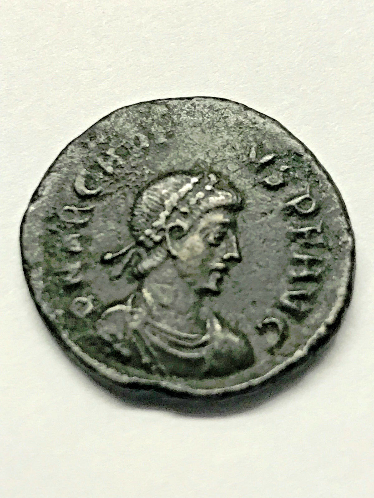 Ancient Roman Imperial Constantine The Great Era Ancient Bronze 300 A.D. #9027