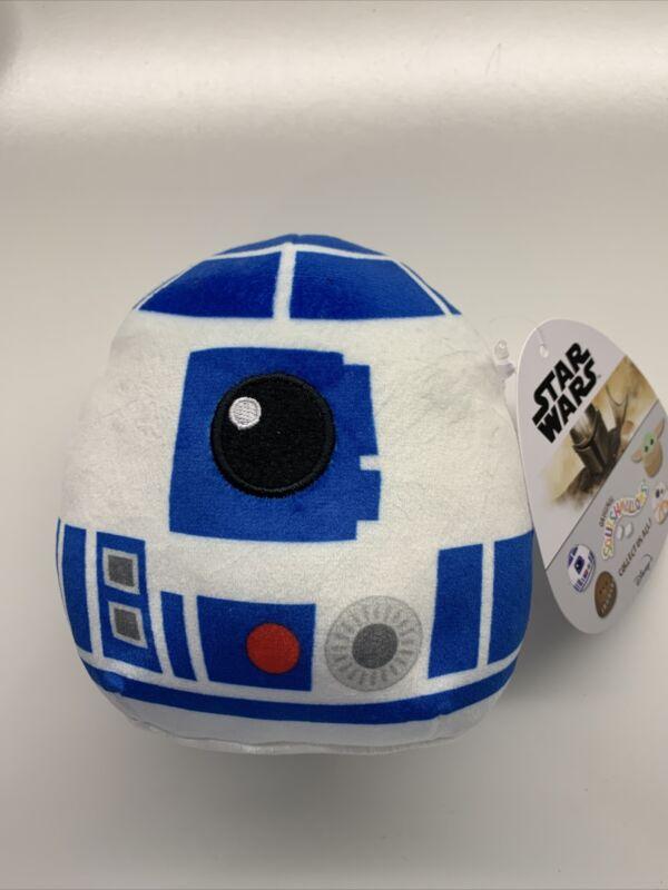 "Star Wars The Mandalorian R2-D2 Squishmallow 5"" Brand New"
