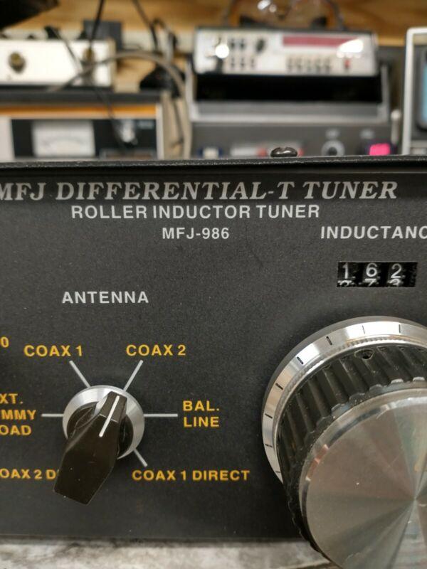 MODEL MFJ-986 DIFFERENTIAL-T TUNER 3KM ROLLER INDUCTOR MFJ ENTERPRISES, INC