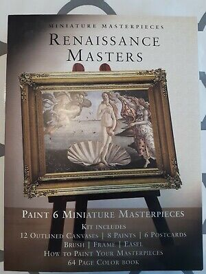 Miniature Masterpieces Renaissance Masters  - Miniature Paint Kit for sale  Colorado Springs