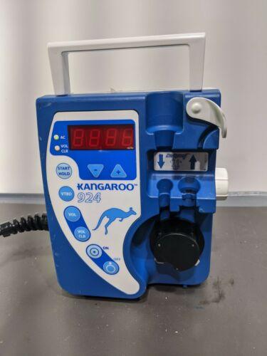 Tyco Healthcare Kangaroo 924 Enteral Feeding Pump w/ Pole Clamp