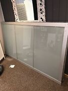 Frosted sliding glass doors IKEA Symonston South Canberra Preview