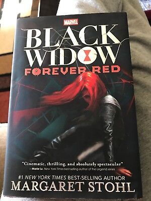 A Marvel YA Novel: Black Widow : Forever Red by Margaret Stohl (2015, Hardcover)