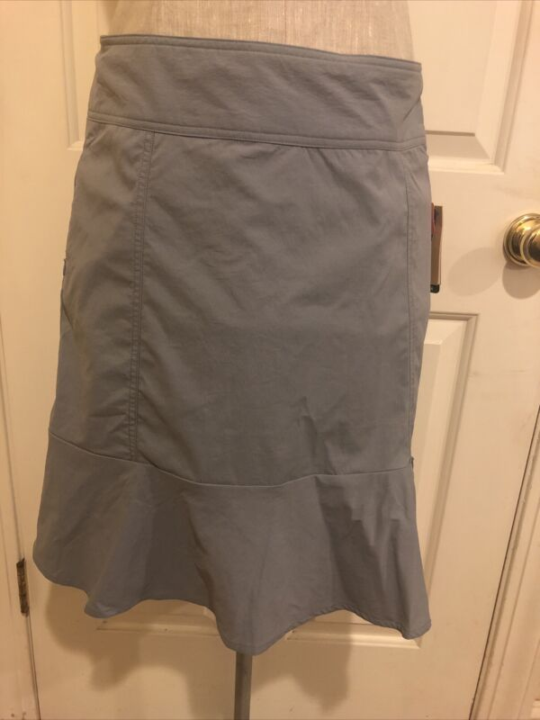 Royal Robbins Discovery Skirt II Echo Adventurer Size 8 Gray