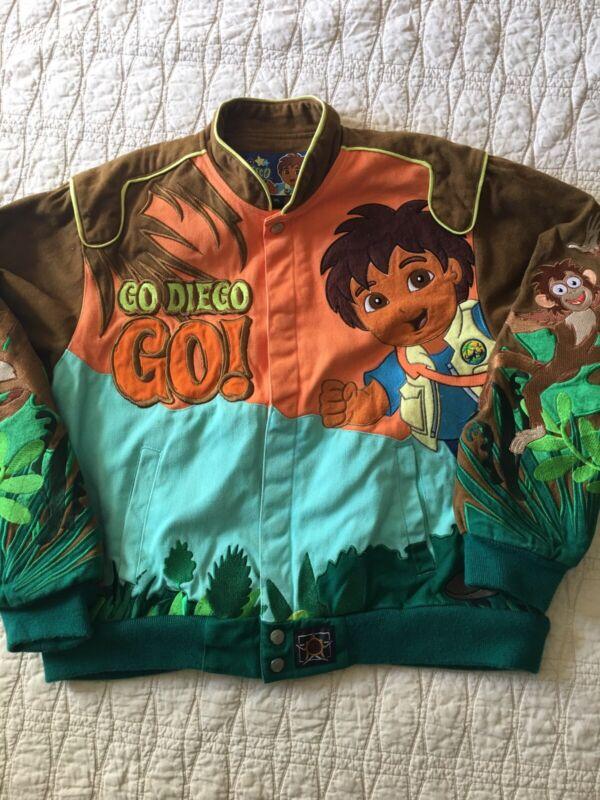 Vintage Go Diego Go Viacom Kids Coat Sz Xl