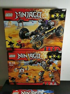 Ancien lot Lego 3 boîtes ninjago Neuf Scellé