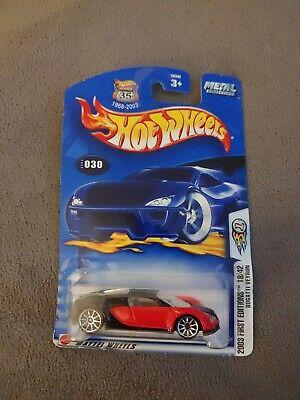 Hot Wheels 2003 First Editions Bugatti Veyron - Look!