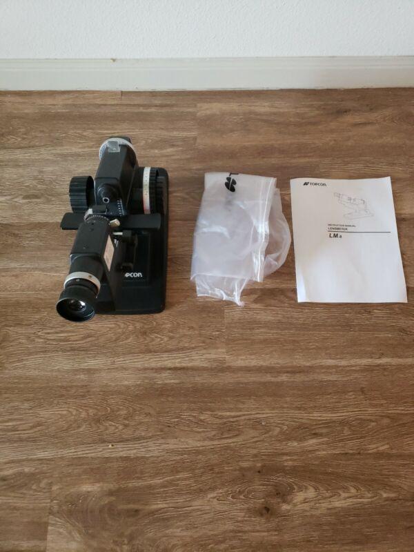 Topcon LM-8E - Manual Lensometer excellent condition.