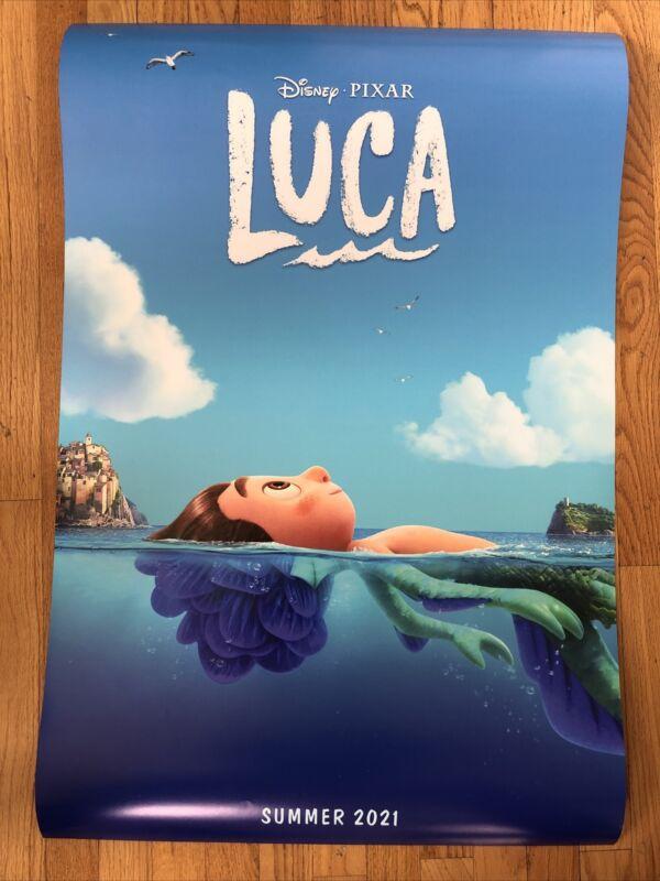 Pixar Luca Movie Poster 24x36
