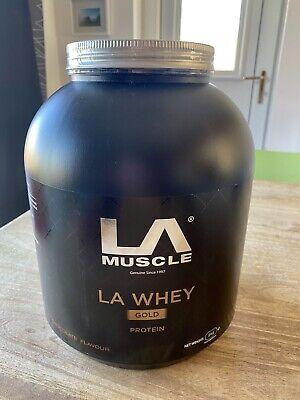 LA Muscle LA Whey Gold (Chocolate Flavour)